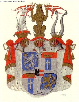 coat of arms - Ahlefeldt-Laurvig-Lehn
